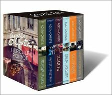Hercule Poirot Mysteries 6 Books Collection Agatha Christie Classic Box Set BBC
