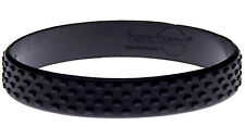 Black TYRE Silicone Wristband Rubber Bracelet Elastic Blank Bangle by Handband