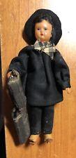 Vintage Hard Plastic Artist Doll