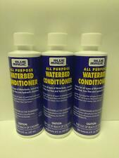 Blue Magic ALL PURPOSE WATERBED MATTRESS CONDITIONER 3 Bottles