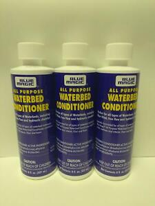 Blue Magic  ALL PURPOSE WATERBED MATTRESS CONDITIONER 4 Bottles..