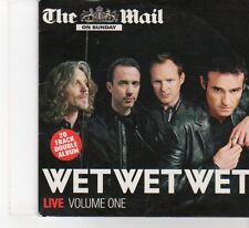 (FR247) The Mail On Sunday Presents: Wet Wet Wet Live, Vol. 1 - 2006 CD