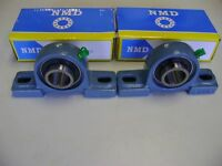 "2 Excellent Quality NMD Brand UCP205-16 1"" Bore 2 Bolts Pillow Block Bearings"