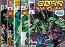 2099 UNLIMITED #1-#10 SET (NM-) HARD TO FIND SET! SPIDER-MAN, 1ST HULK 2099