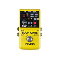 Nux Loop Core Looper Recording Overdub Guitar Effects Pedal w/ Tap Tempo