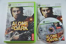 Alone in the Dark - Microsoft Xbox 360 COMPLETE in Good Shape CIB