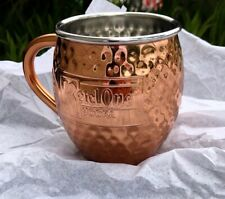KETEL ONE COPPER MUGS  ( Lot of 2 ) FOR CLASSIC MOSCOW MULE BRAND NEW