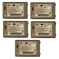 KIT 5x 950 mAh Replacement Battery (LGLP-AGOM-GRN) for LG enV