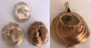 HAIR PIECE EXTENTION WIG PONYTAIL MITATION FAKE NATURAL BUN UPDO ACCESSORIES NEW