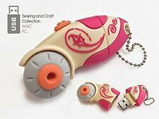 Rotary Cutter Pink 4 Gb USB Thumb Drive - Smartneedle Sewing Notions