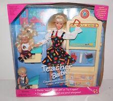 VTG 1995 Teacher Barbie Classroom Doll 13914 No Undies