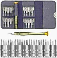 25 in 1 Mini Precision Screwdriver Pocket Repairing Opening Tool Kit. UK SELLER