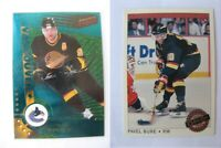 1997-98 Pacific Dynagon #125 Bure Pavel  emerald green  canucks