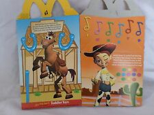 McDonalds Happy Meal Empty Box of Toy Story 2 Bullseye, Jessie, Buzz, Woody, Rex