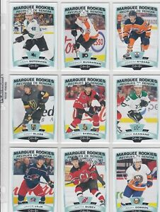 2019-20 O PEE CHEE MARQUEE ROOKIE 19 DIFFERENTS CARDS  near mint  LOT 62     a