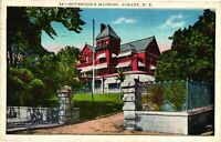 Vintage Postcard - 1936 The Governor's Mansion Albany New York NY #5191