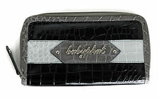 Authentic Baby Phat Womens Bifold Snakeskin Wallet, Multi Black BP6445-A01-BP