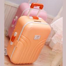 Doll Luggage Travel Suitcase 1/6 1/4 BJD Dollfie DOD Momoko Blythe American Girl