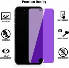 for iPhone 8 Plus/7 Plus/6s Plus Anti-Blue Light Screen Protector Tempered Glass
