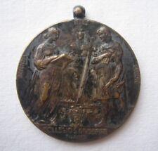 MEDAGLIA COLLEGIO S.GIUSEPPE DI TORINO 1911 CONDOTTA ROTTA C. - DIPLOMA SCUOLA