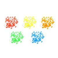 20pcs 5mm Diffused RGB Rainbow Slow Langsam Blinkend Red Green Blue LED RGB ASS