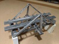 O Scale King Post Bridge  -  Assembled  -  Bridgewerks   H