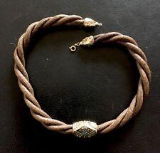 Antico Grande Uhrkette Haarkette Catenina Orologio Taschino