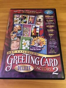 Greeting Card Factory Deluxe Version 2 PC 2002 Sku:6