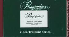 Paragraphics Video Training Series Vhs Wedding Engraving 1997