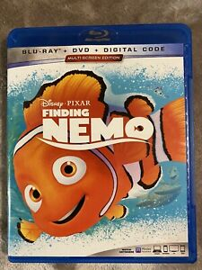 EXCELLENT CONDITION Finding Nemo (Blu-ray+Dvd+Digital 2016, 3-Disc Set)