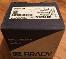 "Brady 1.000"" x 3/8"" White Adhesive Label, Nylon Cloth, PTL-98-499"