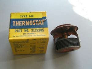 NOS HARRISON Brass 180 degree Thermostat 1933-1966 Pontiac all models