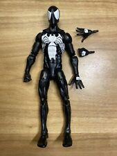 Marvel Legends Black Suit Symbiote Spider-Man 6� Figure Sandman Baf Series