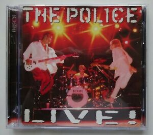 THE POLICE Live! - 2-Disc CD Set (1995)
