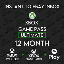 Xbox Live 12 Month GOLD & Xbox Game Pass Ultimate (26 x 14 Days) INSTANT 24/7