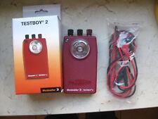 Leitungs und Durchgangsprüfer  Weidmüller Testboy 2 unbenutzt mit Batterie