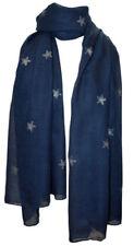 Sterne Damen-Schals aus Baumwollmischung