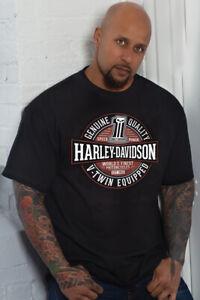 Sycamore Harley-Davidson® Men's Black Immortal Short Sleeve T-Shirt 40290245