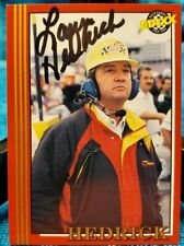 Larry Hedrick AUTOGRAPHED 1992 MAXX (RED) NASCAR racing CARD #131 hand signed