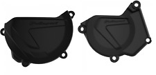 New YZ 250 00-18 BLK Clutch Ignition Cover Protector 01 02 03 04 05 06 07 08 09