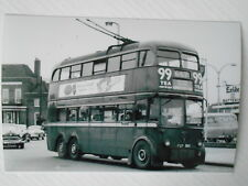 LONDON TRANSPORT TROLLEYBUS - 1380  (FXF 380) - ON ROUTE 667 TO HAMMERSMITH BDY.