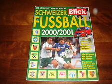 Blick sonderheft Schweizer FUSSBALL 2000-2001 (guida Lega Svizzera 2000-2001)