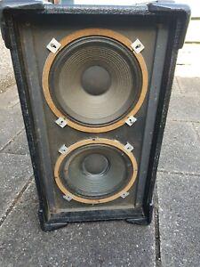 Pair of Vintage Celestion G12H 75watt 16ohm 12 inch guitar speakers