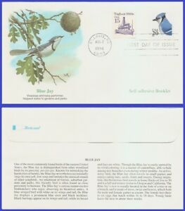 USA5 #3048 U/A FLEETWOOD FDC   Blue Jay s/a