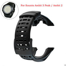For Suunto Ambit 3 Peak/Ambit 2 Rubber Smart Watch Band Replacement Strap KK
