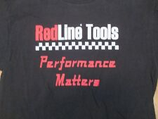Redline Tools Performance Matters T Shirt Size L