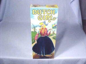 Vintage Original AURORA DUTCH GIRL No. 414-98 NEW OLD STOCK FACTORY SEALED 1957
