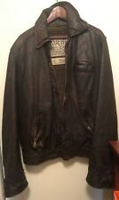 Ruehl 925 by Abercrombie & Fitch Hudson Genuine Leather Jacket