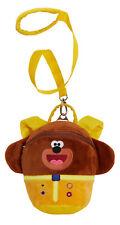 Plush Hey Duggee Backpack With Reins Kids Detachable Safety Harness Nursery Bag