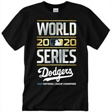 HOT Los Angeles Dodgers 2020 World Series Champions MLB Baseball T-Shirt S-3XL